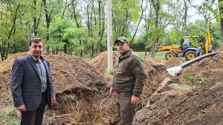 Замене водовода в забалочном районе находится на завершающей стадии