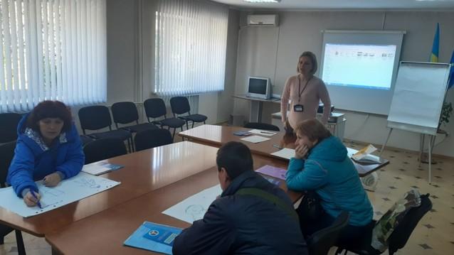 В Торецком центре занятости прошел тренинг по предпринимательской осведомленности