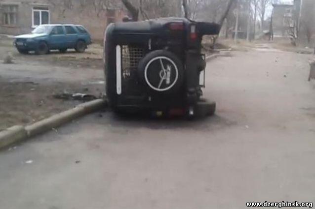 В сети появилось видео последствий беспорядков в Константиновке