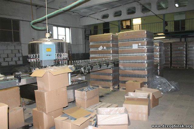 В Донецкой области закрыли цех по производству контрафактного алкоголя