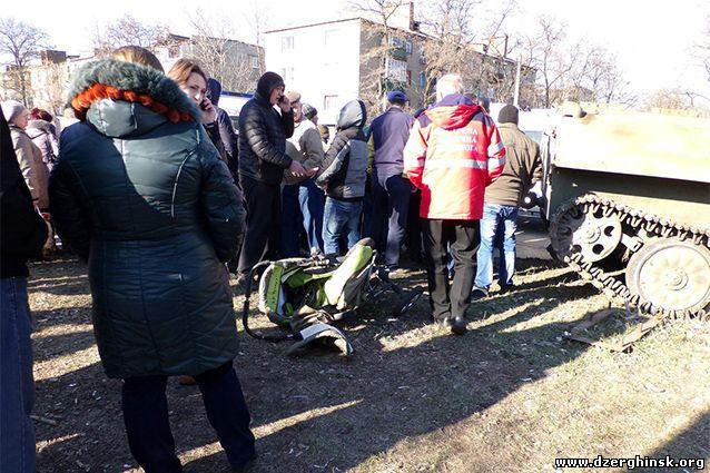 Военослужащие ВСУ на МТЛБ совершили наезд на мирных жителей, пострадали дети