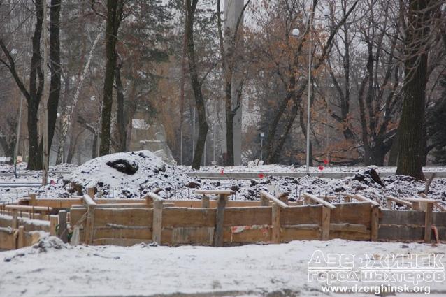 Реконструкция городского парка продолжится в следующем году
