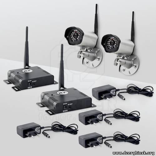 Комплект беспроводного видеонаблюдения