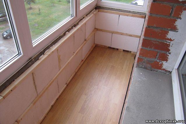 Ремонтные работы балконов