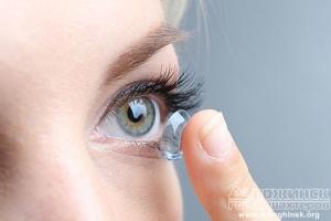 Разновидности контактных линз и их особенности