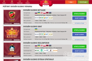 Преимущества востребованных в Украине игровых автоматов Космолот
