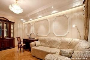 Оформление комнат в викторианском стиле при помощи гипсовой лепнины