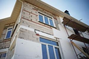 Утепление фасадов зданий пенополистиролом
