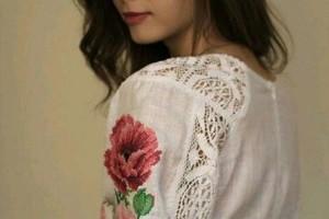 Как вышить платье бисером