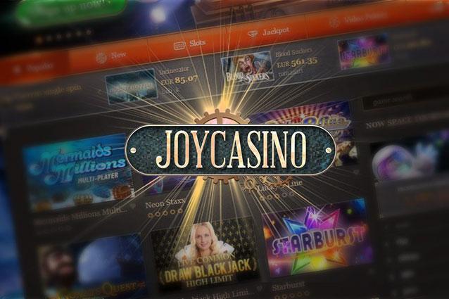 Как играть в аппараты на официальном сайте онлайн казино JoyCasino
