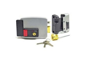 Преимущества установки электромеханического замка