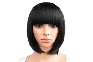 Причины купить чёрный парик из искусственных волос