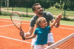 Теннисные корты на Оболони для любителей и профессионалов