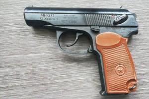 Шумовой пистолет или пугач для развлечений и самообороны