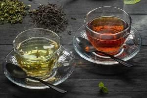Полезные свойства зелёного и красного чая