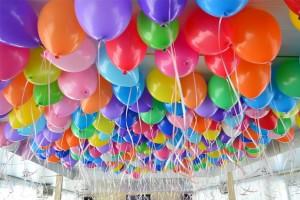 Оформление торжественных мероприятий гелиевыми шарами